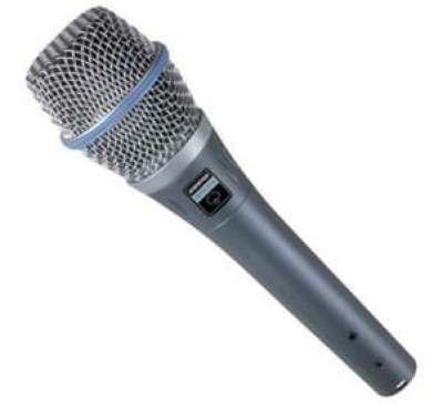 Shure Beta 87 ( Kondenser Vocal ) >
