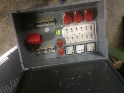 Stromverteiler CEE 32 Container>