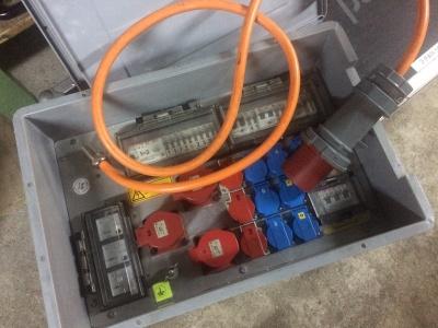 Stromverteiler CEE 63 Container >
