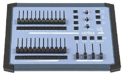 Steuerpult LSC Minim, 12/24 Kanal, DMX>