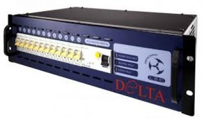 Dimmer, manuell, DMX 12 x 2.5 KW>