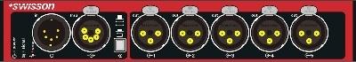 DMX Splitter Swisson XSP-5B>