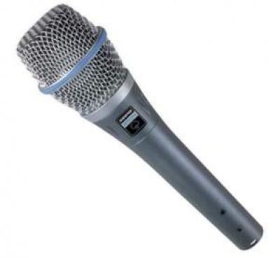 Shure Beta 87 ( Kondenser Vocal ) >