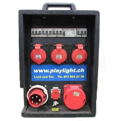 Stromverteiler CEE 63>